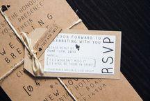 Invitations / #wedding #invite #design #ideas #creative