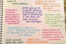 Journaling / by Cheryl Lange