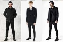 yam - black wardrobe / I wanna build a wardrobe of black.While the color is only one, I wanna play with textures and silhouettes.