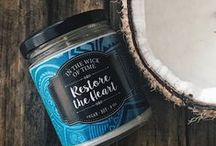 In the Wick of Time Store / The In The Wick of Time Store features all of our vegan and soy handmade candles