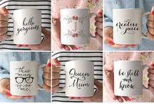 I love COFFEE crafts! / Coffee tastes better when you make the mug!