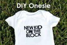 Oh so cute...Baby Gifts! / Personalized gift ideas for the baby to be!