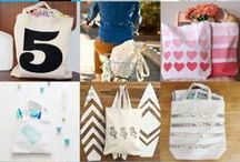Totes, Bags and Backpacks / You can never have too many bags! Find inspiration for your next custom tote, book bag, wallet and clutch!