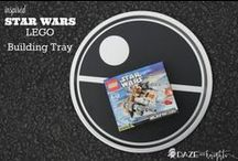 Star Wars DIY / Make your jetti the perfect personalized gift! These Star Wars projects are easy to make with vinyl and your Silhouette