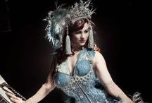 Burlesque Stars / Crossing the line between Burlesque and Vaudeville, these stars were stars like no other / by Sacred Fox