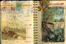 Art journal / Un air Doisneau ...