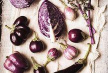 Purple food / Faire l'honneur aux ingrédients violets