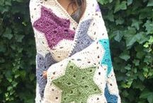 crochet squares, afghans, & blankets / by Min Fish
