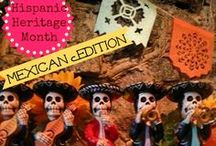 Just Mexican Crafts to Do With Kids / Mexican inspired crafting ideas for children.  #Mexico #crafting #hispanicheritage