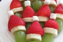 Christmas Baking Ideas / Cookies, cakes, and dessert ideas for Christmas.