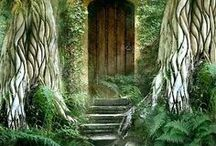 Magical Fairy Houses and Doors