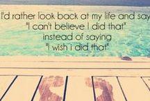 Words of Wisdom -- / by Amy Kaczorowski
