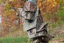 Bird houses & Fairies / by Julia Fleshman
