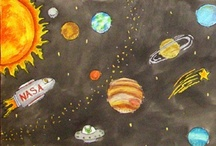 Holidays: Celebrating our Universe / Apr 22, Earth Day -  Apr 26, Arbor Day - First Fri in May, International Space Day - May 4-12, National Wildflower Week - Jul 20, National Moon Day / by Emily Day