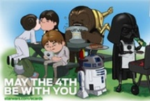 Holidays: Star Wars Day / May 4, cool theme-day at home with the kids!