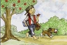 Holidays: Johnny Appleseed Day / Mar 11 - All kinds of great lessons you could come up with for this day! / by Emily Day