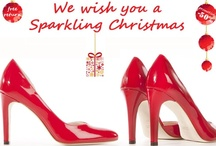 Perfect shoes for Christmas / Choose red, choose glitter, be sparkling !!!