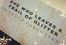 Crafts - Glitter!
