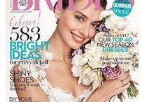 Wedding inspiration / Modern fashion forward bridal jewellery designed and handmade by Zelia Horsley in London.