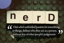 Fan Girl / For the insanely nerdy fan girl in me.