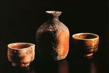 "Japanese Pottery 陶 / Yakimono : ""Fired Thing"". It's an important term that encompasses the entire ceramic culture of Japan."