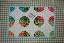 My Quilts. / Mini quilts. Art quilts. Lap quilts. Bed quilts. Quilt blocks. Wall quilts. Table runners. Table mats. / by Penny