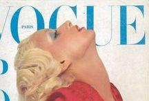 Vintage Paris Vogue Magazines / Paris Vogue