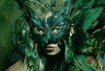 Masked beauty