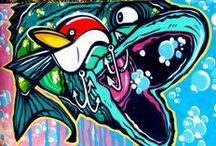 Fish Street Art / by Pecheur.com