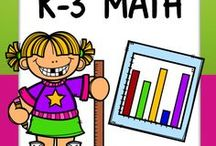 K-3 Math / Welcome to the K-3 Math board! Pin any **K-3rd** posts that are DIRECTLY connected to early childhood math. To join in collaboration, follow the board and email me at jlwalters227@gmail.com. Happy pinning!