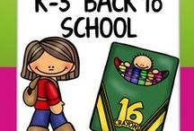 K-3 Back to School! / Welcome to the K-3 Back to School board! Pin any  **K-3rd** posts that are DIRECTLY connected to the back to school season. To join in collaboration, follow the board and email me at jlwalters227@gmail.com. Happy pinning!