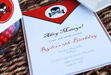 Pirate Party Ideas / by The TomKat Studio