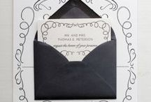 Rebelove INSPIRATION / All about wedding stationery and designs that we like!