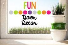 Fun Door Decor