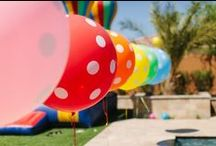 Rainbow Party Ideas / by The TomKat Studio
