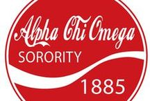 Alpha Chi Omega / To strike on the Lyre of the universe only the notes of happiness, of joy, and of peace.