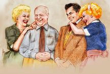 Lucille Ball--I Love Lucy / by Robin Miller