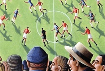 Sport in Art / A collection of Greetings cards featuring sporting art. / by Museums & Galleries