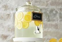 Lemonade Stand Party Ideas / by The TomKat Studio