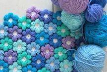 Crochet - otros / Mantas, apliques, decoraciones... a crochet. Para prendas de vestir, visitar el otro álbum.