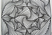 Zentangles, doodles and drawing tutorials / by Sarah Thomas