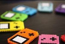 Charts / Esquemas para punto de cruz, hama beads o incluso punto.
