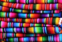 Spain/Mexico (Cinco De Mayo Inspiration) / Having grown up in South Texas I have always loved the Mexican/Spanish culture.  The food, the pottery, the dancing, the music, the bright colors, and the people.  Even though there are differences in being from Spain and being from Mexico...I love it all.