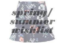 Spring/Summer Wishlist / by Katie Slatton