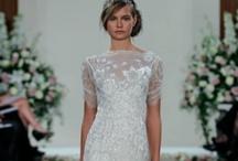 Wedding Dress, Veil, and Flowers / by J Bielat