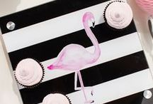 Flamingo Party Ideas / by The TomKat Studio