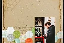 Scrapbook Pages from my albums / Here are some of the pages that make up my scrapbooks.
