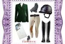 Equestrian Looks / In the irons or around town. Fun Fresh Ideas :D