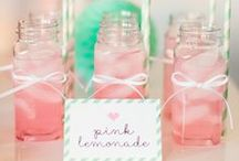 Pink and Mint Pajama Party / by The TomKat Studio