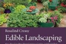 Edible Landscapes / Gardening for food.  Making our gardens useful spaces to feed ourselves & wildlife, organically, rather than a labor intensive lawn.